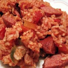 My Nana used to make this!  Miss her Southern cookin! Savannah Red Rice! ♥♥♥