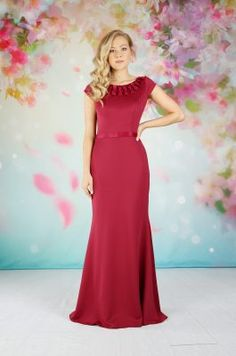 EB7641 | Emma Bridals Thanksgiving Wedding, Fall Wedding, Bonfire Night Wedding, Designer Flower Girl Dresses, Autumn Weddings, Bridal Collection, Bridal Gowns, Chiffon, Girls Dresses