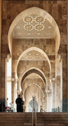 Mosque in Casablanca, Morocco by LeenaDea