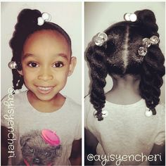 Perfect Ponytails, Braided Masterpieces, Locs, Teenage Styles and more at…