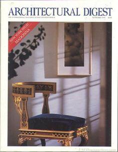 Architectural Digest November 1991