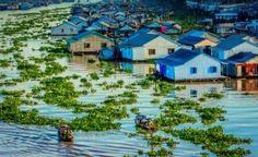 La pisciculture sur le Mékong - Chau Doc - Vietnam