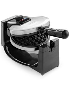 Bella 13991 Polished Stainless Steel Rotary Waffle Maker - Electrics - Kitchen - Macy's
