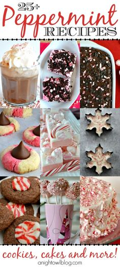 Put those candy canes to good use with these delicious Peppermint Recipes!