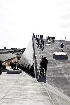 Aarhus // Godsbanen Photo by Katrine Mark, via Behance