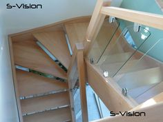 S-Vision on a Staircase