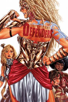 The Fearless Defenders #4 by Mark Brooks