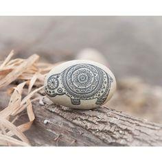 Photo from kdspacegifts.... Hippo mandala rock!