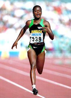 "Merlene Joyce Ottey (born May 10, 1960), is a Jamaican-born Slovenian track athlete. She holds the record for the most Olympic appearances (seven) of any track and field athlete, and for winning the largest number of women's World Championships medals (fourteen).[3] Her career achievements and longevity have led to her being called the ""Queen of the Track"". Her proclivity for earning bronze medals in major championships also earned her the title of ""Bronze Queen"" in track circles."