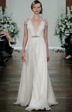Jenny Packham. Modelo Dentelle. Vestido de novia.