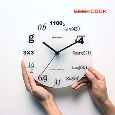math room clock