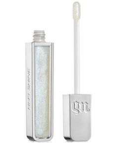 Urban Decay Aphrodisiac Hi-Fi Shine Ultra Cushion Lip Gloss - Tongue Tied (deep fuchsia w/ blue/pink sparkle) Big Bang, Urban Decay Perversion, Urban Decay Heavy Metal, Long Lasting Lip Gloss, Lipgloss, Lipstick Dupes, Purple Lipstick, Lipsticks, New Nail Polish