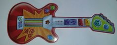 Leap Frog Touch Magic Guitar Strum, Slide & Tap To 10 Different Learning Songs #LeapFrog