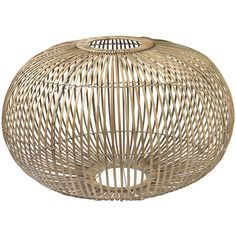 Broste Copenhagen Zep Pendant Bamboo Lampshade - Large ($165) ❤ liked on Polyvore featuring home, lighting, ceiling lights, neutral, bamboo light shade, bamboo lighting, bamboo lamp shade and bamboo lamp