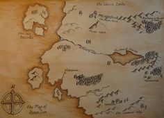 fantasy map lettering - Google Search