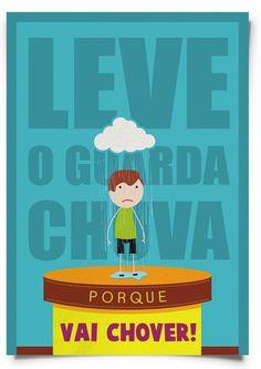Cartazes com frases de mãe, por Lucas Pamplona