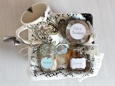 For the Tea Enthusiast in 8 DIY Gift Baskets for Food Lovers from HGTV