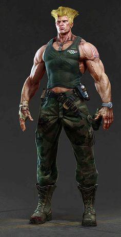 Guile Guile Personagens Street Fighter Lutador De Rua