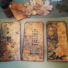 The Paper Addiction: Tim Holtz Creative Chemistry 102 - Day 1
