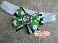 READY TO SHIP Super Bowl 2014 Seattle Seahawks Headband or Hair Bow Clip - Baby Girl, Toddler, Girl on Etsy, $5.00