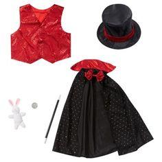 Magic Wand Wizard Harry School Boy Girl Fancy Dress Costume Birthday Houdini