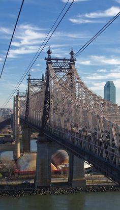 Ed Koch Queensboro Bridge. New York, New York.