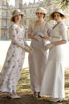 Which Downton Abbey girl are you?  take the character quiz