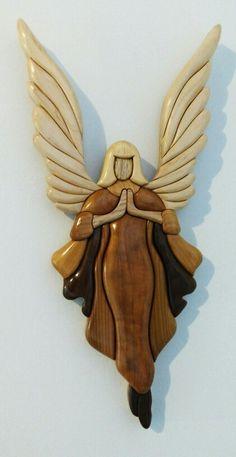 Intarsia Angel Sculpture #1