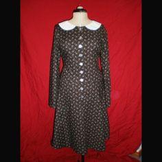 Wednesday Addams Gothic \/ Lolita Dress Custom Made