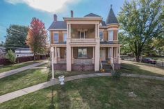 1893 Victorian located at: 312 W Wightman St, Moberly, MO 65270 Open Entryway, Roof Shapes, Vintage House Plans, Historical Architecture, Victorian Architecture, Transom Windows, Second Empire, Victorian Homes, Victorian Farmhouse