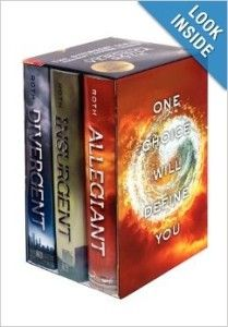 Divergent Trilogy Box Set 209x300 8 Books for Teens for Holiday Gifts 2013