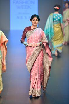 Gaurang at Lakmé Fashion Week winter/festive 2018 Anarkali, Lehenga, Sabyasachi, Banarsi Saree, Saree Trends, Trendy Sarees, Soft Silk Sarees, Saree Look, Elegant Saree