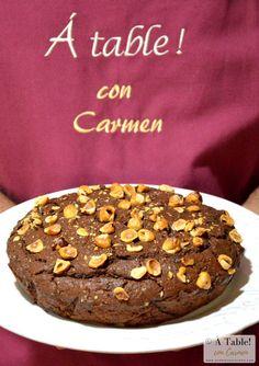 Bizcocho de Crema de Cacao y Avellanas