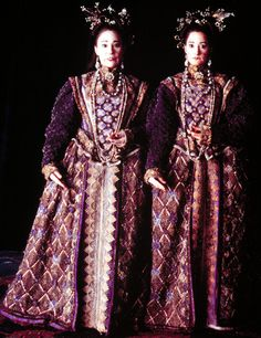 The Twins in the film Gormenghast.  They were wonderful, as was all the cast, but the series became rather gormenghastly.