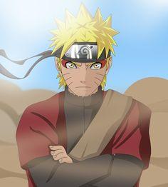 Naruto modo sennin