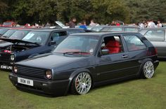 www.vwculture.nl: And another Mk2 VR6!