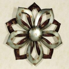 starflower metal wall art  starflower metal wall art: tree scene metal wall art