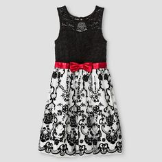 Girls' Stella & Sienna Lace Dress - Multi-color : Target