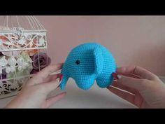 ♥♥ СЛОН крючком ♥ новая игрушка ♥♥ - YouTube