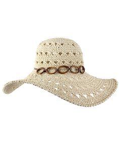 Será el complemento perfecto y el más útil de los looks playeros sin perder un ápice de feminidad. Salvador Bachiller ha creado una gran variedad de modelos muy atractivos...¡qué ganas de verano! Crochet Ripple, Filet Crochet, Crochet Yarn, Crochet Hat With Brim, Crochet Summer Hats, Crochet Shoes, Crochet Clothes, Sombrero A Crochet, Crochet Placemats