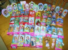 "52-""Kelly,Tommy & Friends"" Easter-Halloween-Christmas-Valentine & Other Dolls #Mattel #DollswithClothingAccessories"