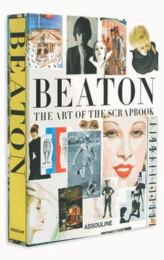 """My new splurge!! LOVE Cecil Beaton so this is a great compilation of his private scrapbooks.... can't wait to receive it!  """"I see, I collect - therefore I am."""" - cecil beaton"""
