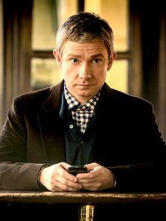 Martin #Freeman as Dr. John Watson in #Sherlock