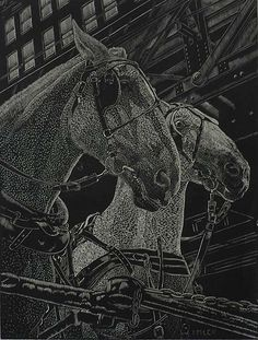 Passage, Edgar Imlar, American 1880-1973. Wood engraving, 1937. This fine impression bears the stamp of the Federal Art Project NYC WPA. Imler specialized in wood engraving and there's an impression of this work in the Library of Congress. He exhibited widely during the 1930s and 1940s.