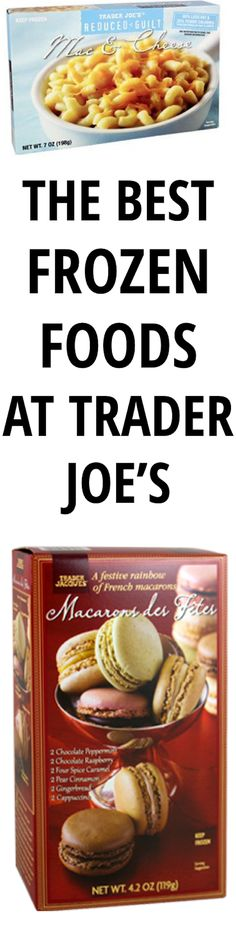 45 of the Best Frozen Foods at Trader Joe's If you're feeling lazy about making dinner, are having guests over or you just feel like stocking up, rejoice: here's a list of the 45 best frozen foods at Trader Joe's. I Love Food, Good Food, Yummy Food, Tasty, Trader Joes Frozen Food, Best Frozen Meals, Crockpot, Joe Recipe, Feeling Lazy