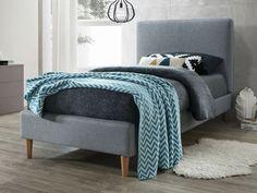 Polsterbett Eowyn, 90 x 200 cm Mikado Living Bedroom Bed, Merino Wool Blanket, Grey Fabric, Palawan, Couch, Elegant, Furniture, Home Decor, Proposal