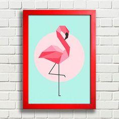 Poster Flamingo - loja online