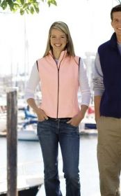 Promotional Products Ideas That Work: Coal harbour ladies' polar fleece vest. Get yours at www.luscangroup.com