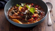 A hearty, head-spinning, soupy stew based on Tunisian leblebi.