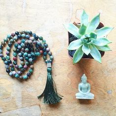 #New Arrival In colors that mirror the multitude of hues of the #earth, this #FancyJasper #Mala is known to bring wholeness and tranquility. It can relieve fear, frustration and guilt, building an #inner strength and confidence. The #treeoflife charm evokes deep #faith and #grounding. #shop now for 25% OFF using code: SHOP25 ✨ Shop link in Bio: #DesignedForTheJourney #justarrived #satya #malabeads #yogi #yogamonth #SatyaJewelry #namaste #blessings #buddha #calm #labordayweekend #yoga